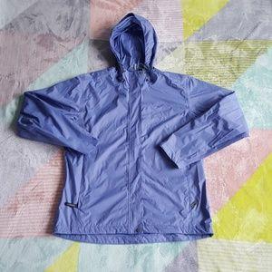 White Sierra Blue Rain Jacket